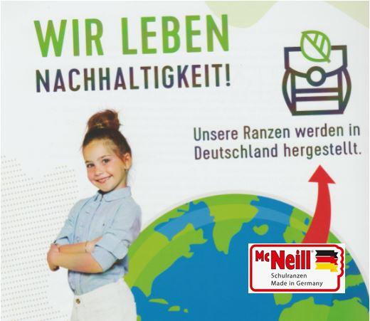 mcneill schulranzen nachhaltig hergestellt deutschland auswahl angebot beratung edelbauer puchheim muenchen starnberg dachau