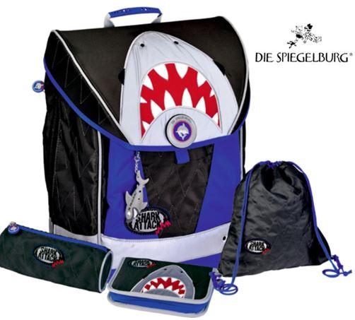 spiegelburg schulranzen set ergo style fun shark auswahl angebot beratung muenchen puchheim dachau starnberg